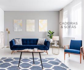 Imagem da campanha Cadeiras & Sofás