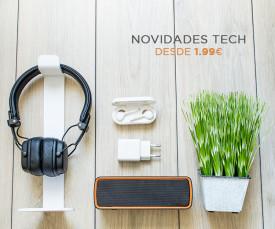 Imagem da campanha Novidades Tech!   -  Desde 1.99eur