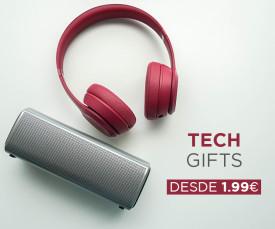 Especial Tech Gifts desde 1.99eur