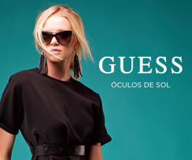 Imagem da campanha Guess Óculos de Sol
