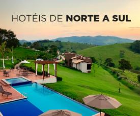 Imagem da campanha Hotéis de Norte a Sul