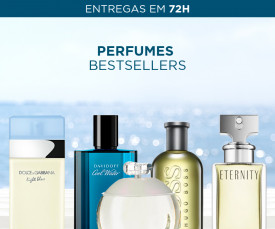 Imagem da campanha Perfumes BESTSELLERS Entrega em 72H