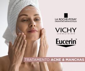 Tratamento para acne e manchas