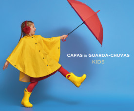 Imagem da campanha Capas e Guarda-Chuvas Kids
