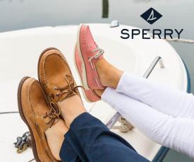 Imagem da campanha Sperry