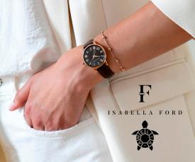 Imagem da campanha Isabella Ford e Amelia Parker
