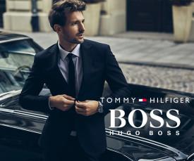Imagem da campanha Tommy Hilfiger e Hugo Boss