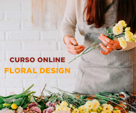 Curso Online de Floral Design -  Faça centros de Mesa com Flores!