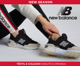 Imagem da campanha New Balance New Season