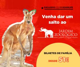 Imagem da campanha Jardim Zoológico de Lisboa - Bilhetes de Família desde 51Eur