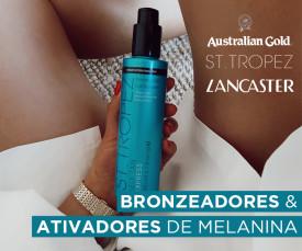 Bronzeadores e Ativadores de Melanina