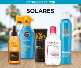 Imagem da campanha SOLARES Entrega em 72H