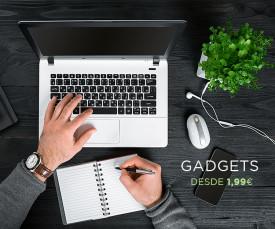 Imagem da campanha Gadgets desde 1.99eur