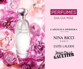 Imagem da campanha Perfumes Dia da Mãe Todas as Marcas