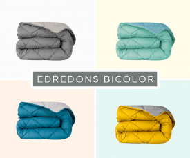 Edredons Bicolor desde 29,99Eur - Sonhos alegres