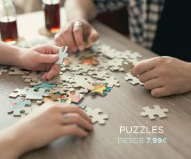 Imagem da campanha Puzzles desde 7.99eur