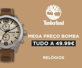 Timberland Mega Preço Bomba Tudo a 49.99€