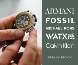 Imagem da campanha Feira de Relógios Entrega em 72H