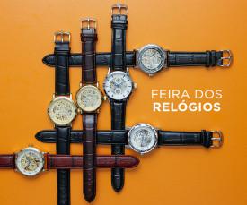 Imagem da campanha Feira dos Relógios 72H