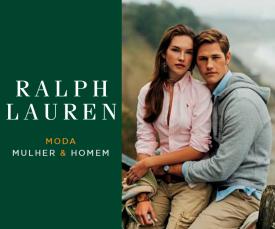 Imagem da campanha Ralph Lauren