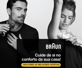 Imagem da campanha BRAUN