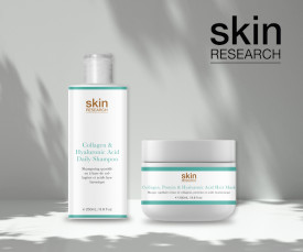 Imagem da campanha Haircare by Skin Research