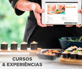Imagem da campanha Aproveite alguns dos cursos e experiências mais inovadores do clubefashion