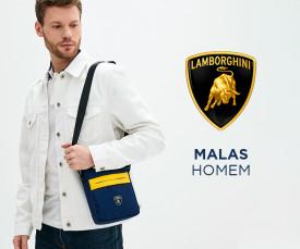 Imagem da campanha Lamborghini Bags for Men