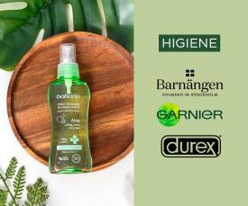 Imagem da campanha Especial Higiene Entrega em 72H