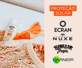 Imagem da campanha Especial Proteção Solar