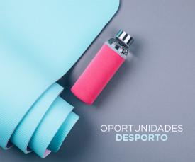 Imagem da campanha 72H Oportunidades Desporto! Prepara-te para o verão