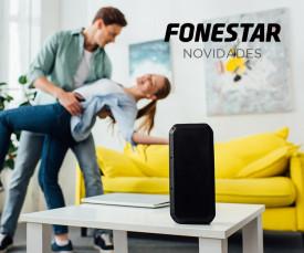 Imagem da campanha Novidades Fonestar ! Música por toda a casa