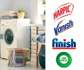 Imagem da campanha Aiwick Finish Vanish Harpic