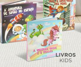Imagem da campanha Hora da Leitura! Livros Criança!