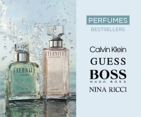Imagem da campanha Perfumes Bestsellers com Entrega Rápida 72H