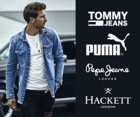 Tommy Jeans, Hackett, Puma e Muito Mais...