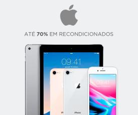 Imagem da campanha Apple! Até 70% em recondicionados