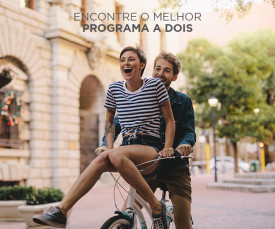 Imagem da campanha Encontre o melhor programa a 2 no Clubefashion!!!