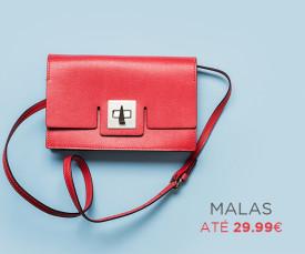 Imagem da campanha Malas até 29.99€