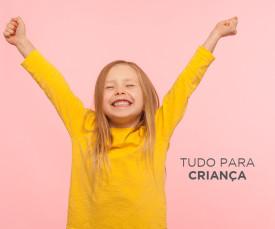 Imagem da campanha TUDO PARA CRIANÇA
