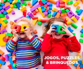 Dia da Criança! Jogos, Puzzles e Brinquedos