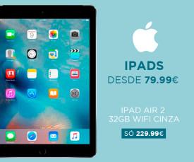 Imagem da campanha Apple! Oportunidades IPADS