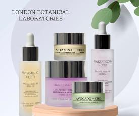 Imagem da campanha London Botanical Laboratories