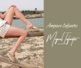 Imagem da campanha Amparo e Miguel Infantes