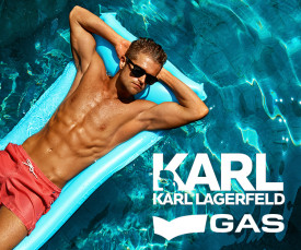Karl Lagerfeld e GAS swim