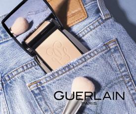 Imagem da campanha Guerlain Melhor Maquilhagem