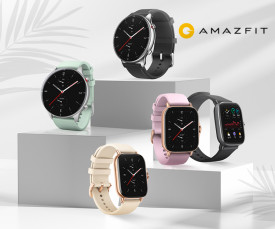 Imagem da campanha Smartwatches Amazfit! - Desde 34.99eur