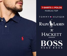 Imagem da campanha Especial Polos e T-shirts