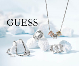 Imagem da campanha Guess Jewels