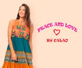 Imagem da campanha Peace & Love